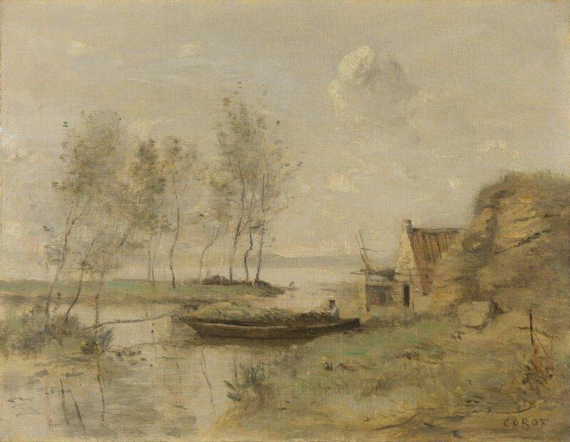 Jean Baptiste Camille Corot Souvenir Of Palluel Ng6467