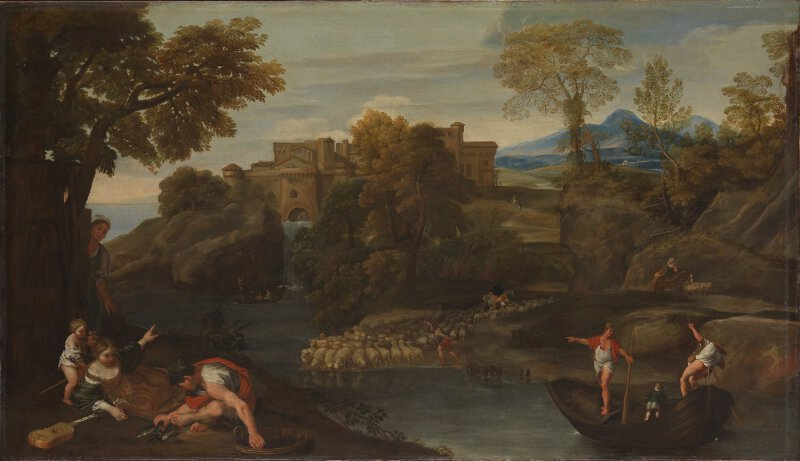 Landscape with a Fortified Town