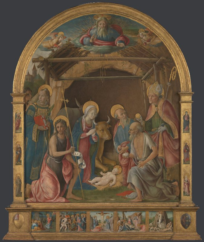 The Nativity with Saints Altarpiece