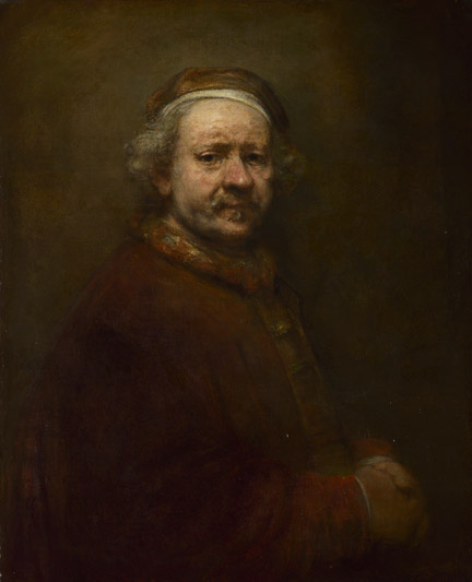 Rembrandt, 'Self-Portrait at the Age of 63', 1669 © The National Gallery, London