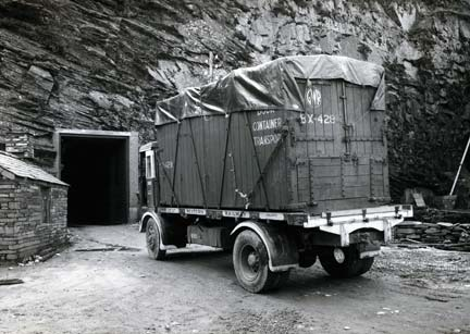 Truck going into a Mine - Gallery at War