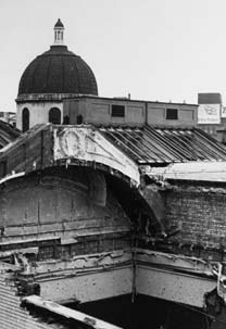 Bombed roof - Gallery at War