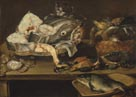 Still Life with Fish and Cat