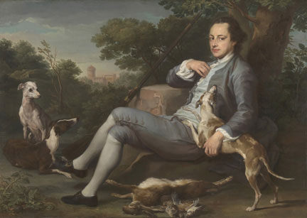 Batoni, 'Portrait of Sir Humphry Morice', about 1761-62