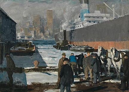George Bellows-Men of the Docks-document image