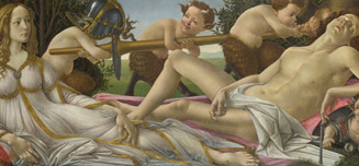 Botticelli 'Venus and Mars'