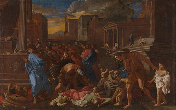 Angelo Caroselli, 'The Plague at Ashdod (after Poussin)'