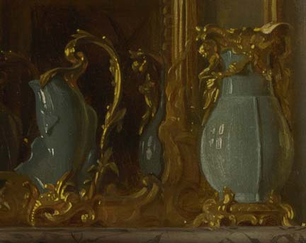Detail from, 'The Baron de Besenval in his Salon de Compagnie', 1791