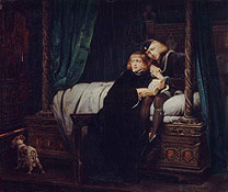 Detail from Hippolyte (Paul) Delaroche, 'Edward V and the Duke of York in the Tower', 1831 © The Wallace Collection