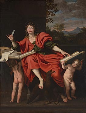 Domenichino, Saint John the Evangelist, late 1620s