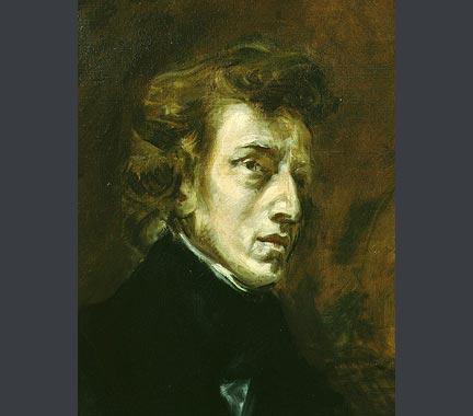 Eugène Delacroix, 'Portrait of Frédéric Chopin', 1838.  Musée du Louvre, Paris