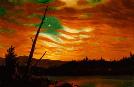 Frederic Edwin Church, 'Our Banner in the Sky'