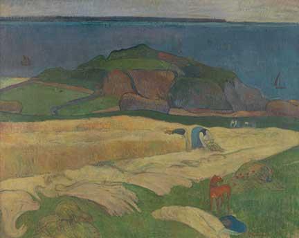 Gauguin, 'Harvest: Le Pouldu', 1890
