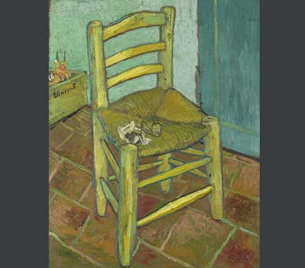 Van Gogh, 'Van Gogh's Chair', 1888