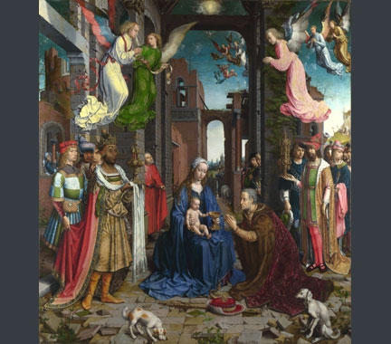 Gossaert, 'The Adoration of the Kings', 1510-15