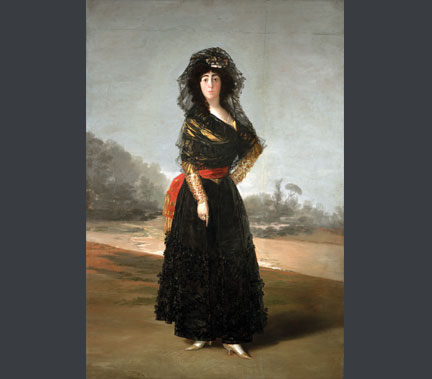 Francisco de Goya, The Duchess of Alba, 1797. On Loan from The Hispanic Society of America, New York A102 © Courtesy of The Hispanic Society of America, New York