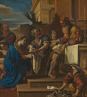 Guercino: 'The Presentation of Jesus in the Temple'