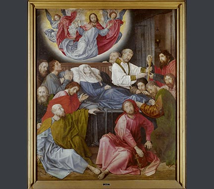 Hugo van der Goes, 'The Death of the Virgin', late 15th century, Groeningemuseum, Stedelijke Musea, Bruges