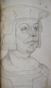 Jacques Le Boucq, Portrait of Philip, Bastard of Burgundy, afterwards Bishop of Utrecht