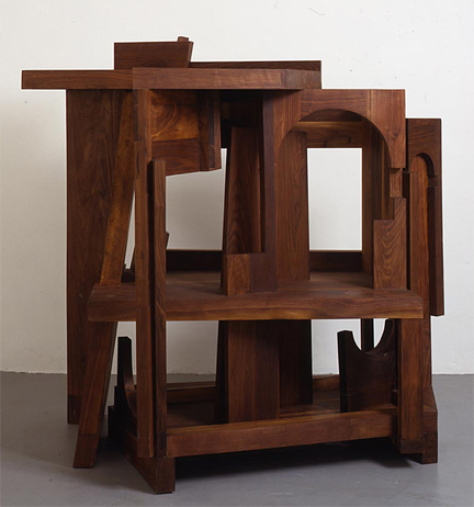 Anthony Caro, Duccio Variations No.3, 1999-2000, on loan with permission from the Caro family.