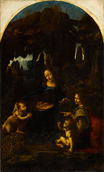 Leonardo da Vinci, 'The Virgin of the Rocks'