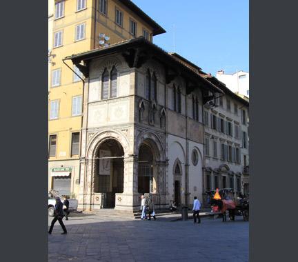 Loggia del Bigallo, Florence.