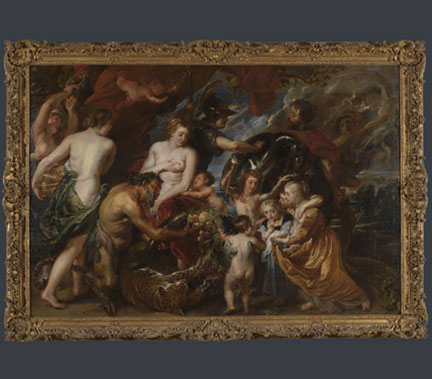 Peter Paul Rubens, 'Minerva protects Pax from Mars ('Peace and War')', 1629-30