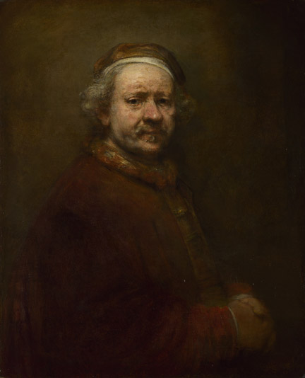 Rembrandt, 'Self Portrait at the Age of 63'
