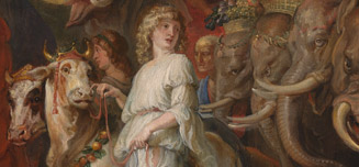 Detail from Peter Paul Rubens, A Roman Triumph, about 1630