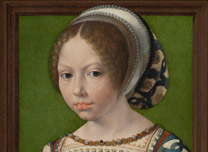 Jan Gossaert, 'A Young Princess', about 1530
