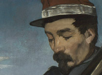 Detail from Manet, 'The Execution of Maximilian'