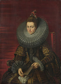 Studio of Peter Paul Rubens, 'Portrait of the Infanta Isabella', about 1615