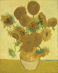 Vincent van Gogh, Sunflowers, 1888 © The National Gallery