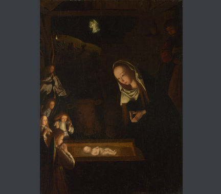 Geertgen tot Sint Jans, 'The Nativity at Night', possibly about 1490