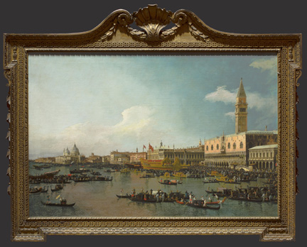Canaletto, 'Venice: The Basin of San Marco on Ascension Day', about 1740