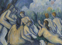 Paul Cézanne, 'Bathers' about 1894-1905