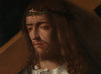 Detail from Italian Venetian Christ carrying the Cross