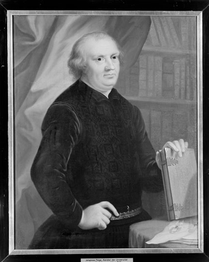 fig. 4 Attributed to Johann Heinrich Tischbein, 'Portrait of Johannes Feige', about 1771–2, Universitätsmuseum für Kunst und Kulturgeschichte, Marburg © Bildarchiv Foto Marburg, inv. 4100