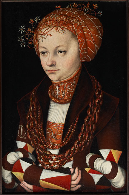 fig. 1 Lucas Cranach the Elder, 'Young Woman', about 1513 © Art Gallery of Ontario, Toronto