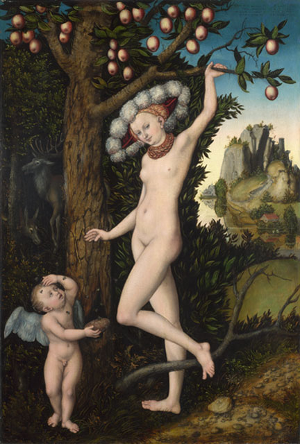 Lucas Cranach the Elder, 'Cupid complaining to Venus', 1526–7