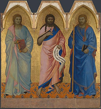 Nardo di Cione, Three Saints