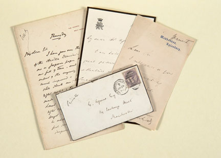 Agnew's Archive Letters