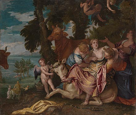 Paolo Veronese: 'The Rape of Europa'