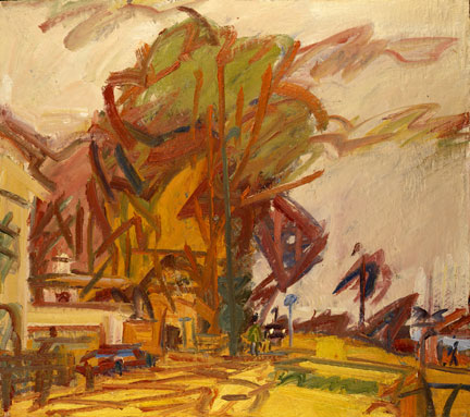 Frank Auerbach, 'Park Village East', 1997-8 © Frank Auerbach, courtesy Marlborough Fine Art