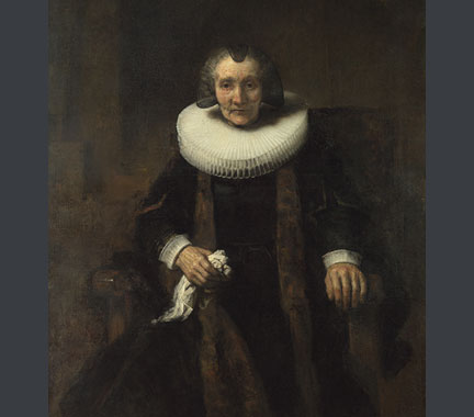 Rembrandt, 'Margaretha de Geer', about 1661