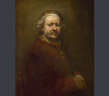 Rembrandt, 'Self Portrait at the Age of 63', 1669