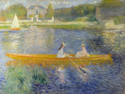 Renoir, 'The Skiff (La Yole)', 1875