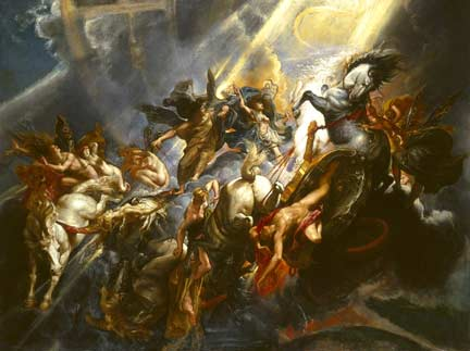 Rubens, 'The Fall of Phaetons', about 1604-6