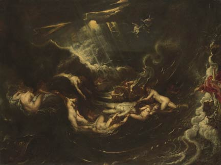 Rubens, 'Hero and Leander' about 1604-6