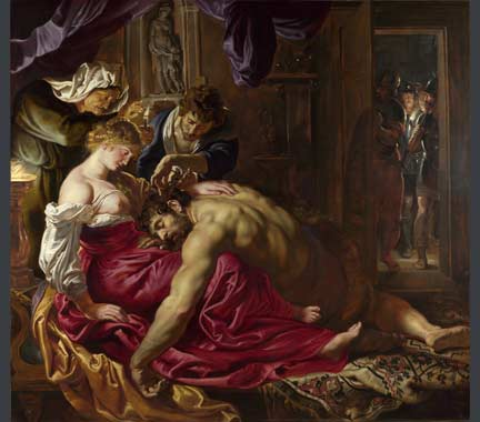 Rubens, 'Samson and Delilah' about 1609-10